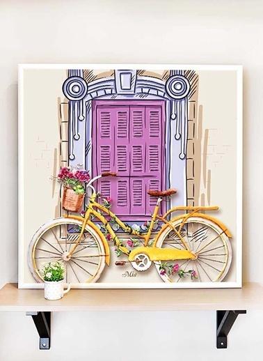The Mia Tablo Bisiklet B - 65*65 Cm  Renkli